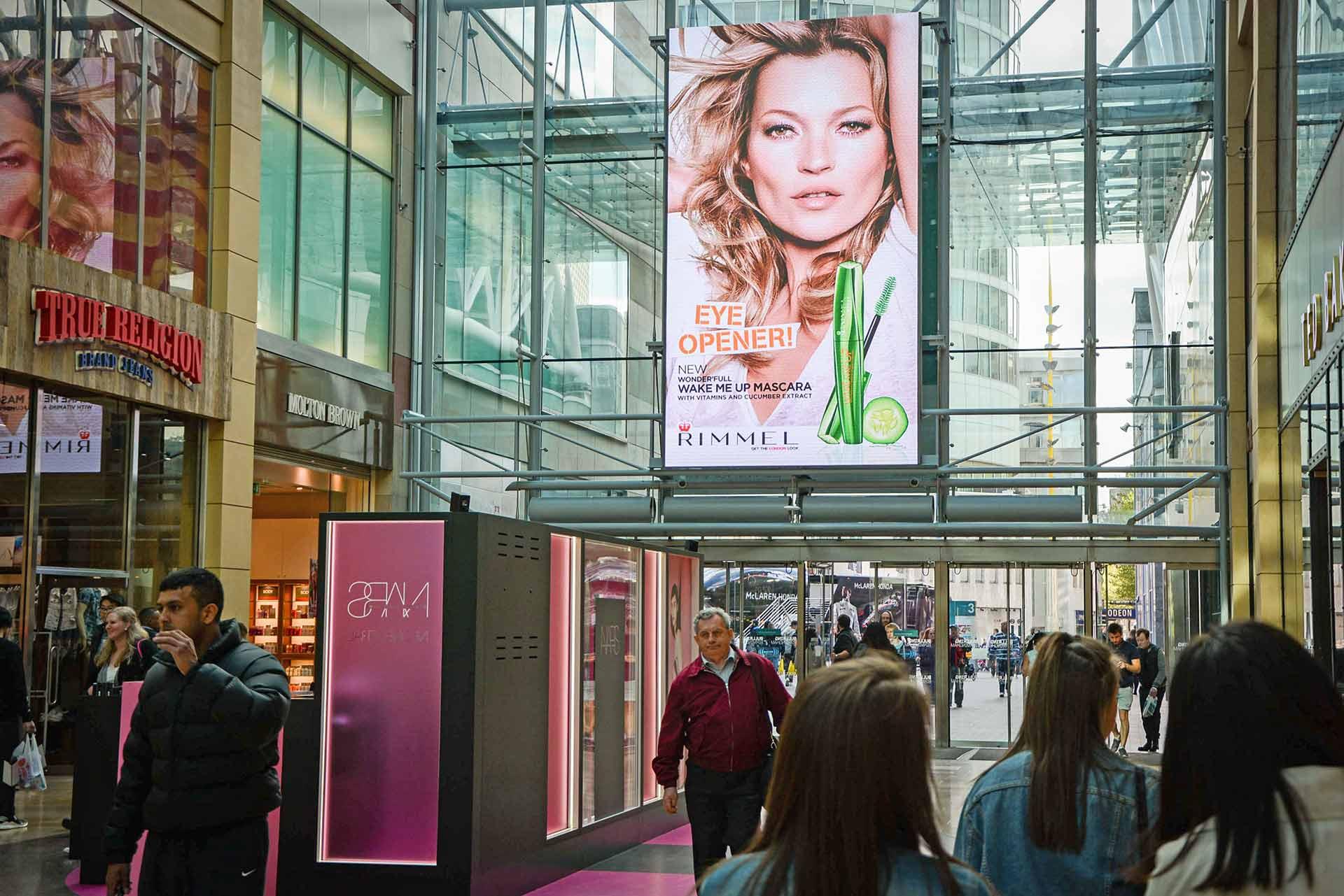 Bullring & Grand Central Birmingham DOOH Screen Installations