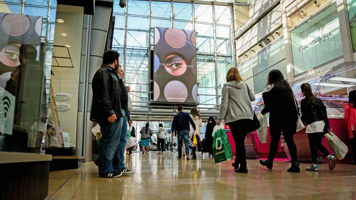 Bullring & Grand Central Shopping Centre DOOH Screen Installation
