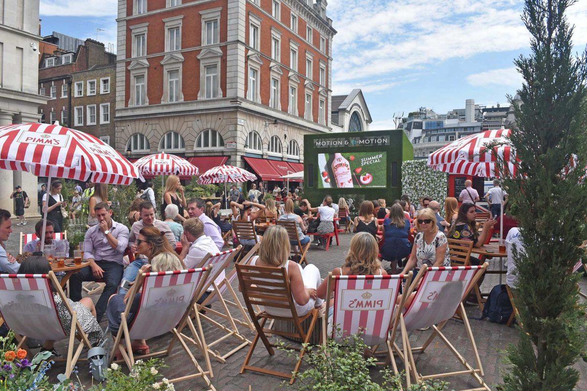 Covent Garden Summer Screens
