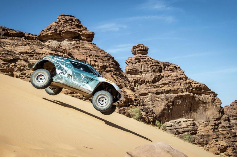 Extreme E Race Car - Desert X Prix