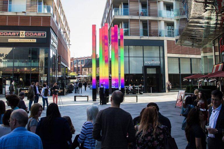 Leicester Highcross Beacons Creative LED Digital display installation