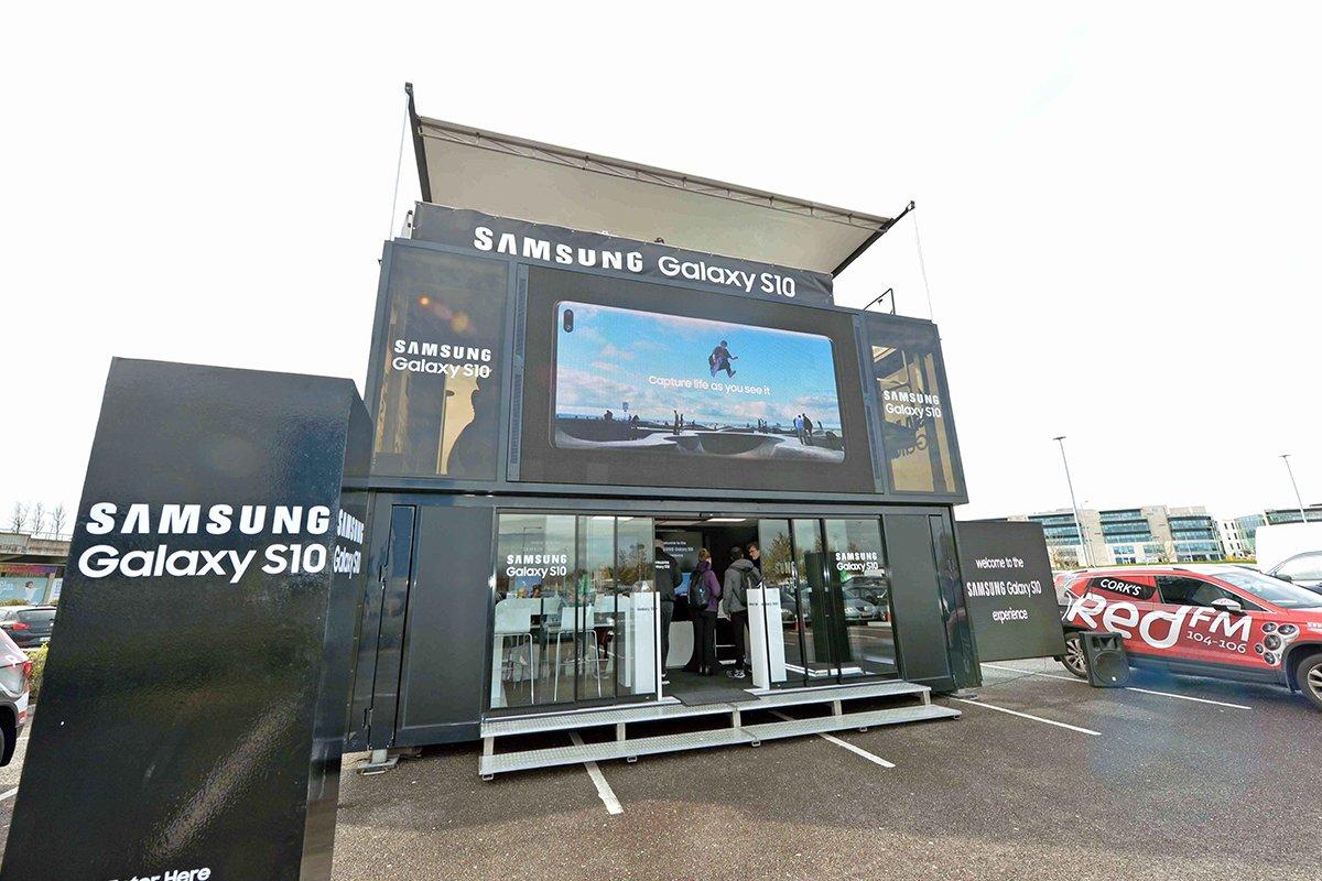 Samsung Tour, Cork - iCONIC H