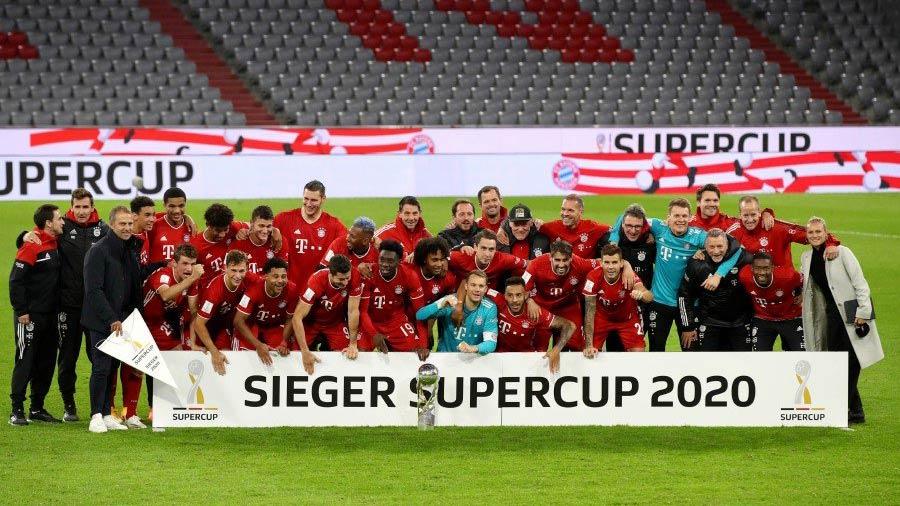 Bundesliga SuperCup - Showing digiBOARD