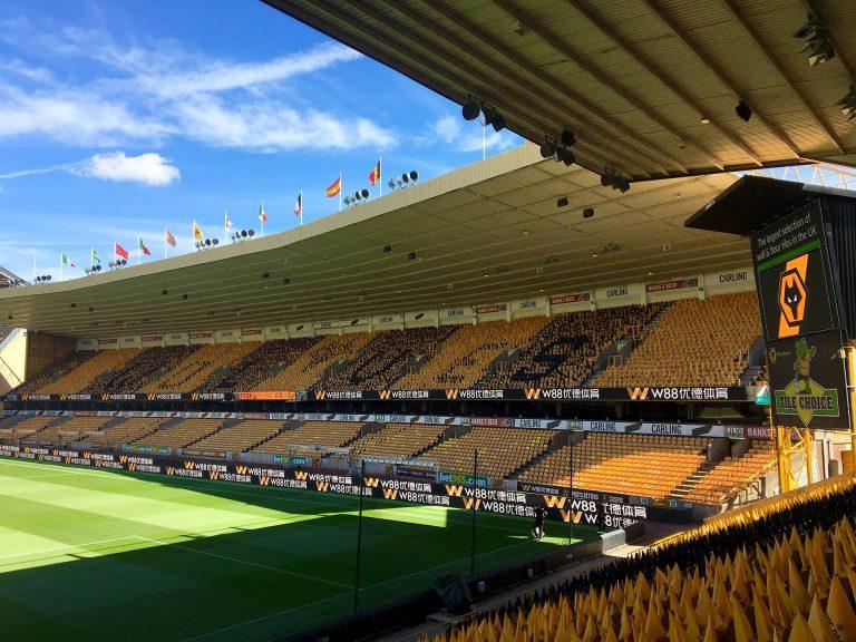 Wolves Stadium Double Digital Perimeter ADI digiBOARD