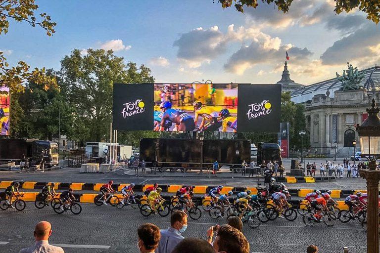 Tour de France 120W Super wide Big Screen