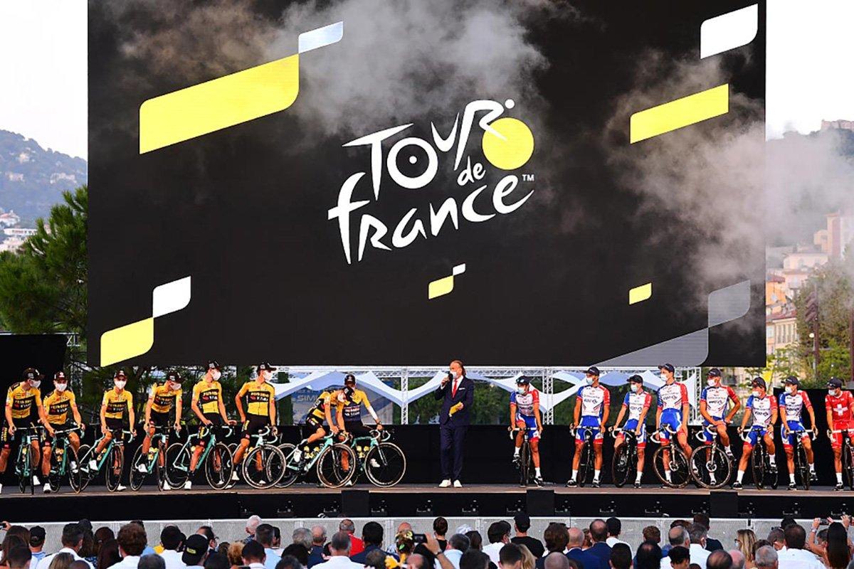 Tour de France Large Modular Screen Stage