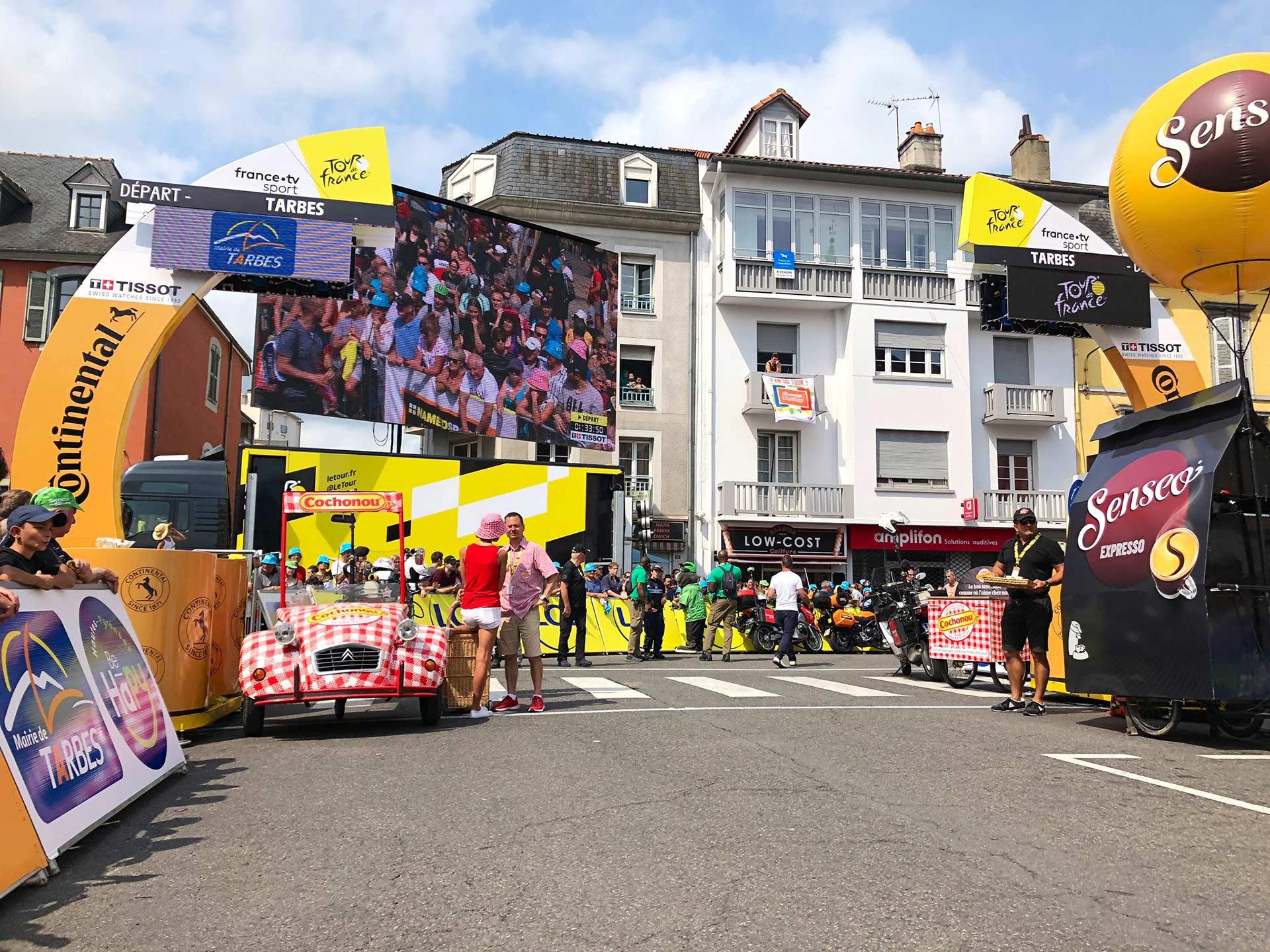 Tour de France Giant Screen hire