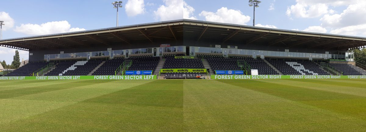 Forest Green digiBOARDs panoramic
