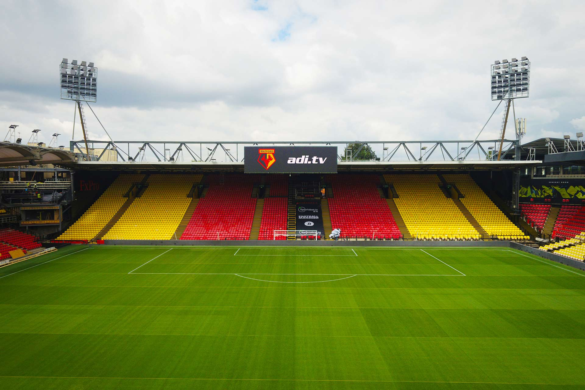 Watford Football Club - ADI Stadium Screen Installation